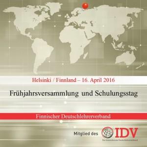 Frühjahrsversammlung und Schulungstag des Finnischen Deutschlehrerverbands @ Helsinki | Helsinki | Uusimaa | Finnland