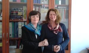 Treffen mit Ilona Feld-Knapp am 28.04.2016
