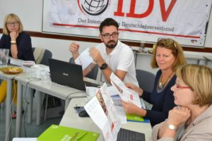 IDV-Vorstandssitzung