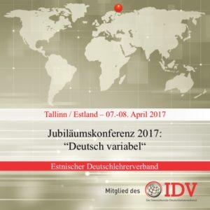 Jubiläumskonferenz des estnischen Deutschlehrerverbands @ Hotel Euroopa, Paadi 5, Tallinn | Tallinn | Harju maakond | Estland