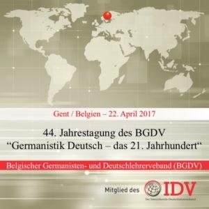 44. Jahrestagung des BGDV @ Gent | Gent | Flanders | Belgien
