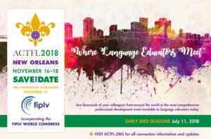 FIPLV-Weltkongress 2018 @ New Orleans   New Orleans   Louisiana   USA
